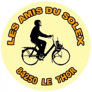 badge Amis Solex sans contour noir