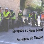 Escapade au Hameau de Thouzon 1 Mai 2019
